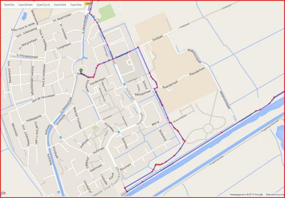 10 km dorp gedeelte